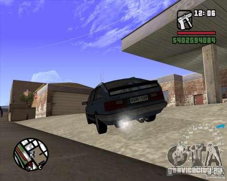 Audi 100 Avant для GTA San Andreas вид сзади слева
