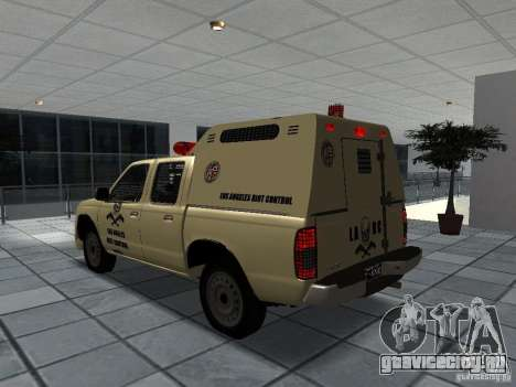 Nissan Terrano LARC для GTA San Andreas вид слева