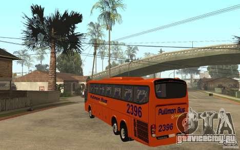 Marcopolo Paradiso 1200 Pullman Bus для GTA San Andreas вид сзади слева