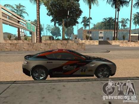 Aston Martin v8 Vantage n400 для GTA San Andreas вид сзади