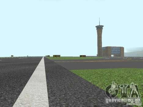 New Airport San Fierro для GTA San Andreas четвёртый скриншот