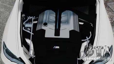 BMW X5M для GTA 4 вид сзади
