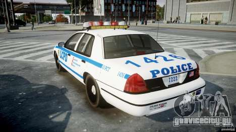 Ford Crown Victoria CVPI-V2.5V для GTA 4 вид сбоку