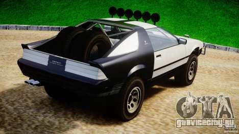 Ruiner Trophy Truck для GTA 4 вид сзади слева