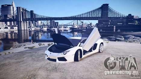Lamborghini Aventador LP700-4 v1.0 для GTA 4 вид сзади