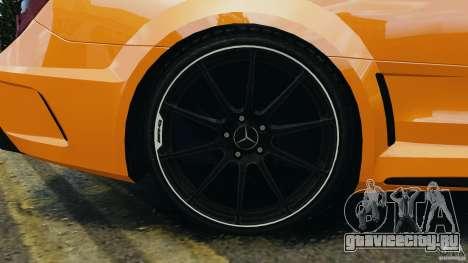 Mercedes-Benz C63 AMG 2012 для GTA 4 вид сверху