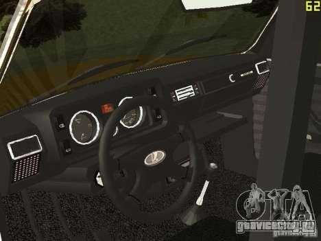 ВАЗ 2104 Такси для GTA San Andreas вид сзади