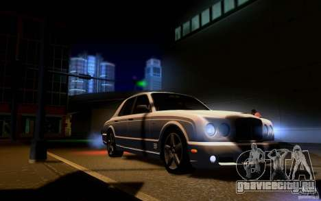 Bentley Arnage для GTA San Andreas салон