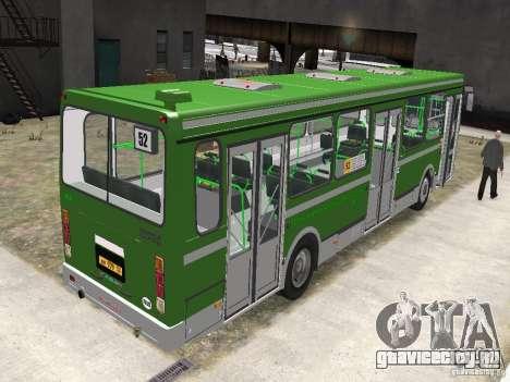 ЛиАЗ 5256.25 для GTA 4 вид сзади слева