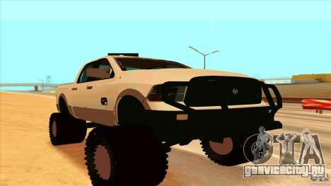 Dodge Ram 2500 4x4 для GTA San Andreas