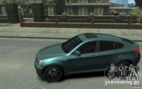 BMW X6-M 2010 для GTA 4 вид слева