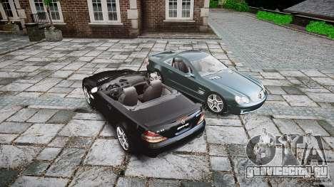 Mercedes Benz SL65 AMG V1.1 для GTA 4 вид снизу