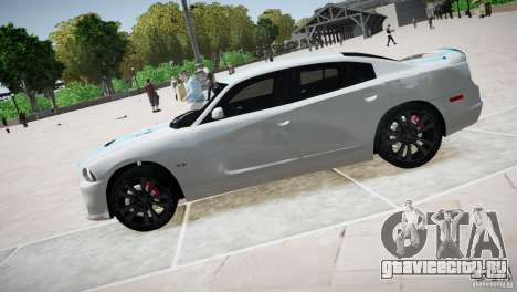 Dodge Charger SRT8 2012 для GTA 4 вид слева