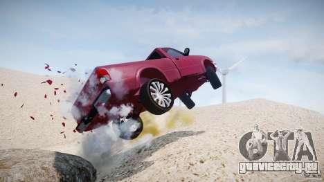 Ford Ranger для GTA 4 салон