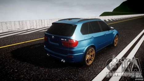 BMW X5 M-Power wheels V-spoke для GTA 4 вид сбоку