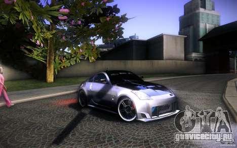 Nissan 350Z Fairlady для GTA San Andreas вид сверху