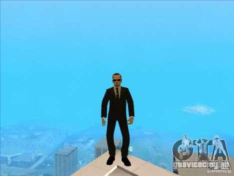 Matrix Skin Pack для GTA San Andreas седьмой скриншот
