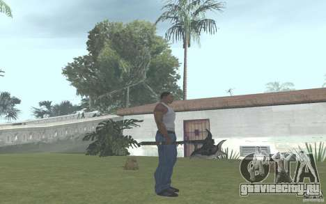 Skullaxe для GTA San Andreas второй скриншот