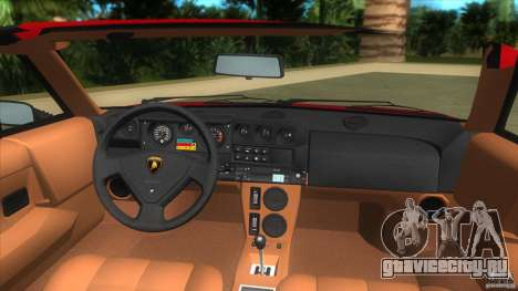 Lamborghini Jalpa P350 1984 для GTA Vice City вид справа