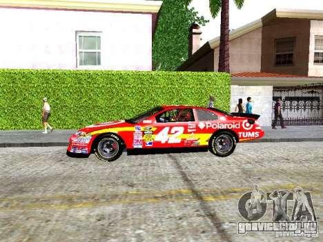 Chevrolet Impala SS Nascar Nr.88 для GTA San Andreas вид слева