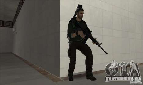 Sam Fisher для GTA San Andreas второй скриншот