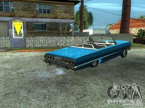 Chevrolet Impala 1964 (Lowrider) для GTA San Andreas вид слева