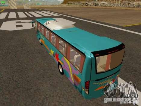 Mercedes-Benz Vissta Buss LO для GTA San Andreas вид сзади