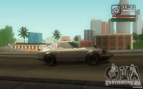 Datsun 240ZG для GTA San Andreas вид сбоку