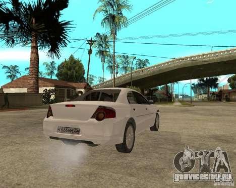 ГАЗ Volga Siber 2.5 AT для GTA San Andreas вид сзади слева