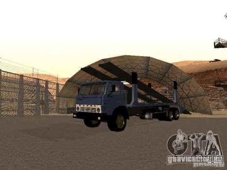 КамАЗ автовоз для GTA San Andreas