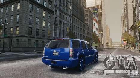 Chevrolet Tahoe tuning для GTA 4 вид справа