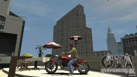 The Lost & Damned Bikes Lycan для GTA 4