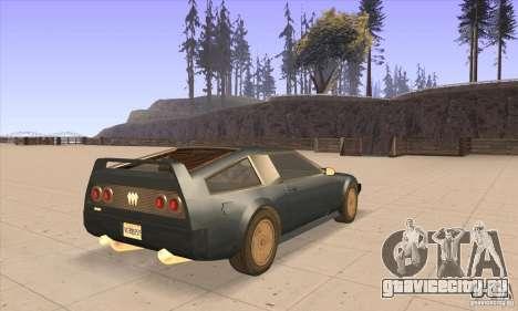 Deluxo HD для GTA San Andreas вид справа