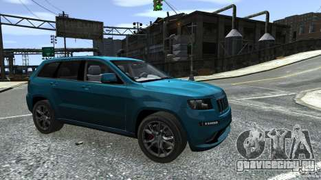 Jeep Grand Cherokee STR8 2012 для GTA 4 вид сверху