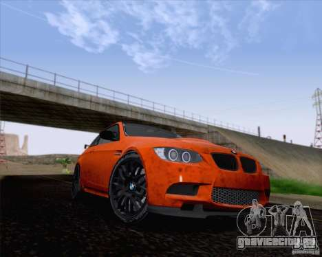 BMW M3 GT-S Fixed Edition для GTA San Andreas вид слева