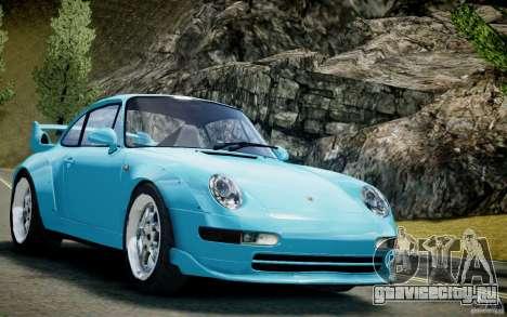 Porsche 911(993) GT2 1995 для GTA 4 вид сзади