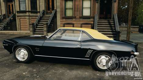 Chevrolet Camaro SS 350 1969 для GTA 4 вид слева