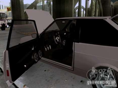 ВАЗ 2108 сток для GTA San Andreas вид сбоку