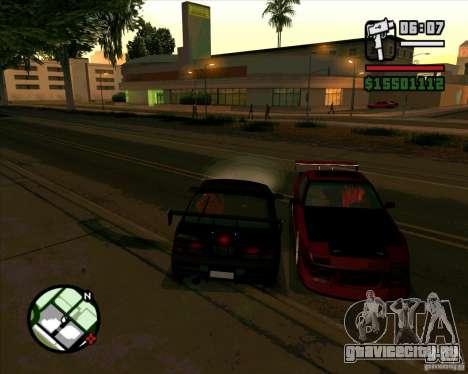 MAZDA FC3S DRIFT TUNE для GTA San Andreas вид слева