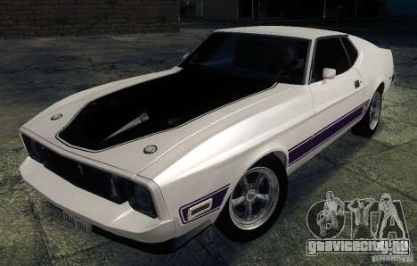 Ford Mustang Mach1 1973 для GTA San Andreas