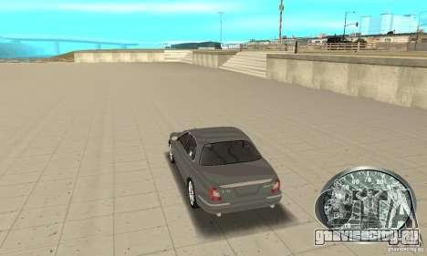 Спидометр v.2.0 для GTA San Andreas третий скриншот