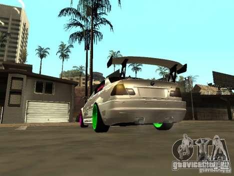 BMW M3 E46 v1.0 для GTA San Andreas вид слева
