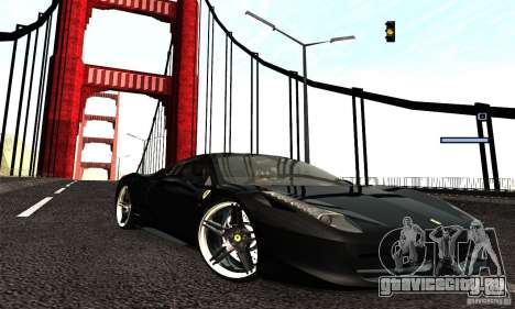 ENB Series 2013 HD by MR для GTA San Andreas третий скриншот