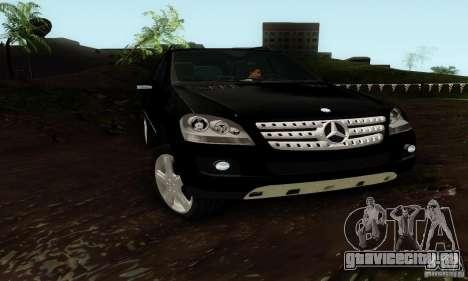Mercedes-Benz ML500 для GTA San Andreas вид справа