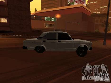 ВАЗ 2107 Azeri full для GTA San Andreas вид справа