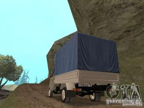 ГАЗ 3302 2001г.в. для GTA San Andreas вид справа