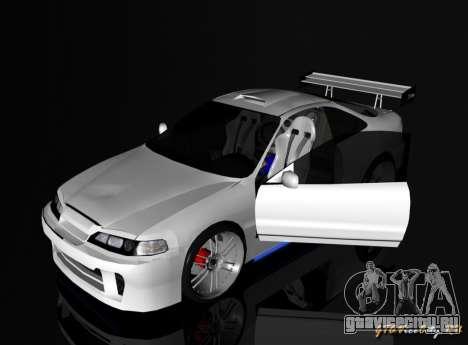 Honda Integra TUNING для GTA San Andreas вид слева