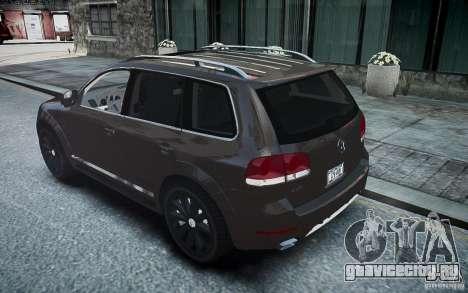 Volkswagen Touareg R50 для GTA 4 вид слева
