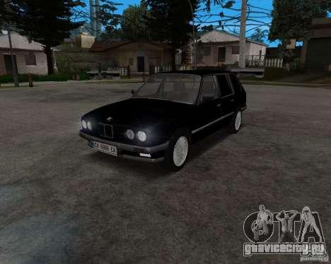 BMW 320i Touring 1989 для GTA San Andreas