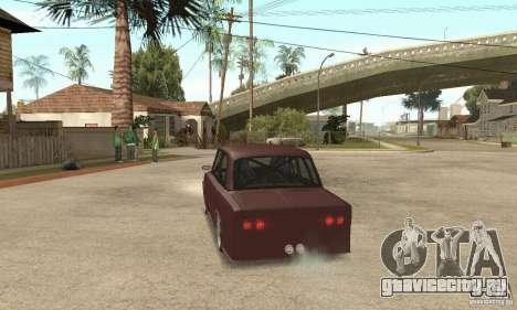 ВАЗ 2106 Street Style для GTA San Andreas вид слева
